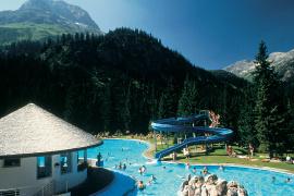 Waldschwimmbad in Lech am Arlberg
