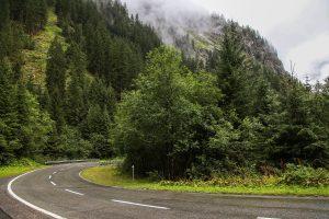 Alpenstraße in Vorarlberg